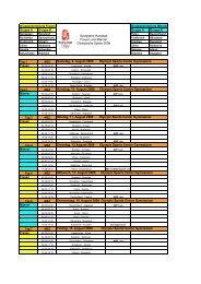 Spielpläne - Handballworld