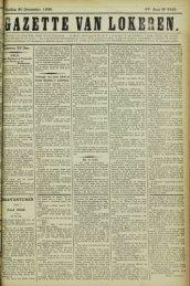 Zondag 30 December 1900. 57* Jaar N° 2945. ,okereo 29 Dec ...