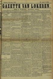 Zondag 4 Februari 1912. 69° Jaar N» 3525. Bureel en Werkhuizen ...