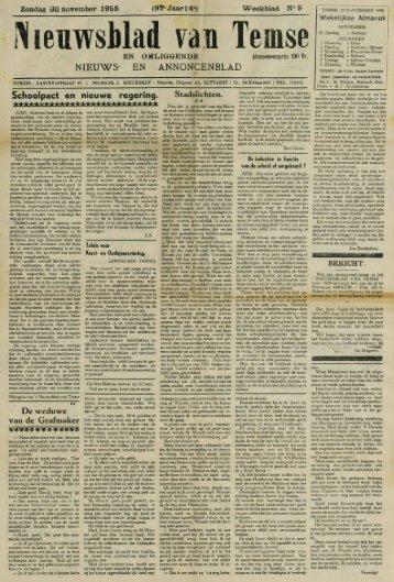 Nieuwsblad van Tem se