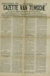 Zondag 14 Augusti 1887. Jaargang. en van het Kanton, bestaande ...