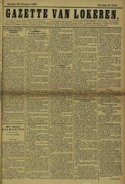 Zondag 28 Februari 1897. 54°JaarN°2745. LokereD 27 Febr. Mev ...