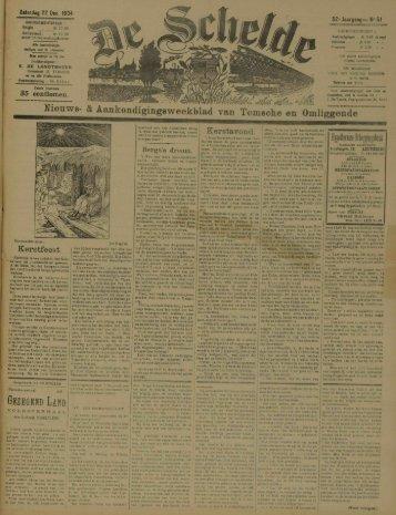 Nieuws- & Aankondigingeweekblad van Temsche en Omliggende