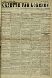 Zondag 17 Januari 1892. 49» Jaar N° 2514. Lokeren 16 Janua.