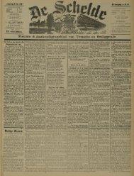 Hieuwe- & Aaokondigingsblad van Temsche en Omliggende