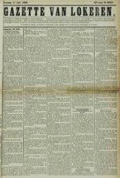 Sondag 11 Juli 1886. 43» Jaar N° 2258. iokeren 10 Juli.
