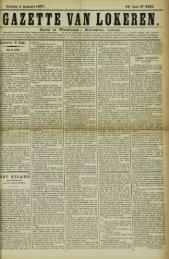 Zondag 4 Augusti 1907. 64° Jaar N° 3289. Bureel en Werkhuizen ...