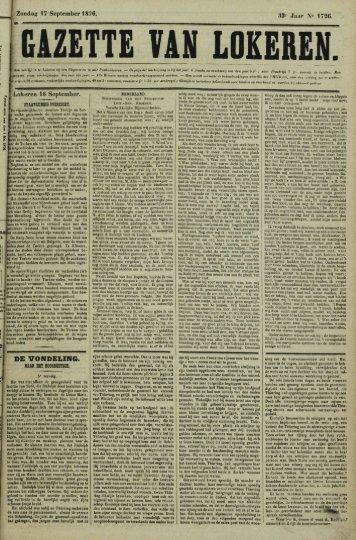 Zondag 17 September 1876. 33« Jaar 1726. DE VONDELING.