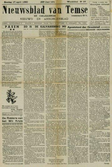 Nieuwsblad van Temse