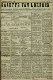 Zondag 9 November 1884. 41» Jaar N° 2171. Lokeren 8 Nov. t ...
