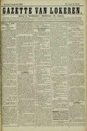 Zondag 7 Augusti 1904. 61* Jaar N° 3133. Bureel en Werkhuizen ...
