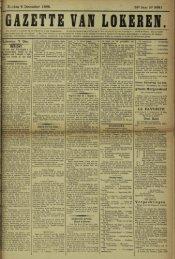 Zondag 8 December 1895. 52* Jaar M« 2681. Lokeren 7 Dec ...