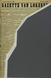 Zondag 12 October 1890. 47-Jaar N» 2457. lokeren 11 Octob.