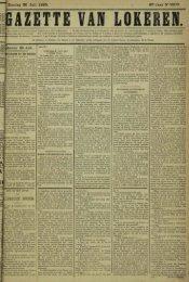 Zondag 26 Juli 1885. 42*JaarN«2208. «Jokeren 25 Juli. LLBRECHT ...
