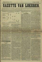 Zondag 12 Januari 1873. 30c jaar N 1528. Beweging van den ...