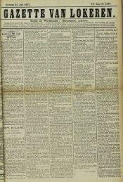 Zondag 21 Juli 1907. 64° Jaar N° 3287.