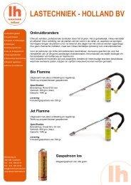 LH Onkruidbranders folder.pdf - Lastechniek - Holland BV