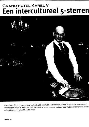 Artikel de Karavaan voorjaar 2009 - Grand Hotel Karel V