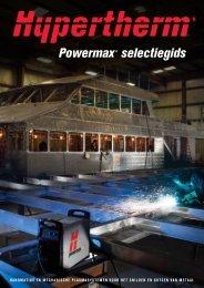 Hypertherm powermax-keuzegids.pdf - Lastechniek - Holland BV