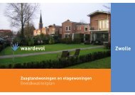 Zaagtandwoningen en Etagewoningen - BIS - Gemeente Zwolle