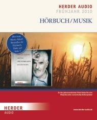 Werbe- schwer- punkt - Verlag Herder