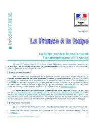 Lutte contre le racisme et l'antisémitisme en France