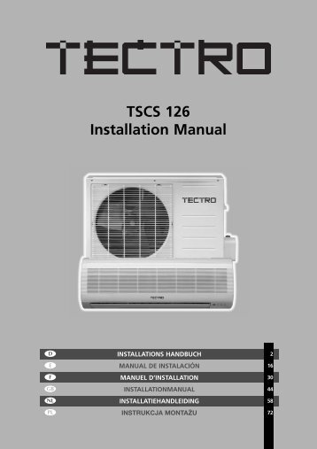 TSCS 126 Installation Manual