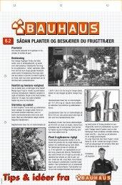 planter og beskærer dine frugttræer - Bauhaus