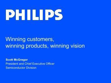 Winning customers, winning products, winning vision