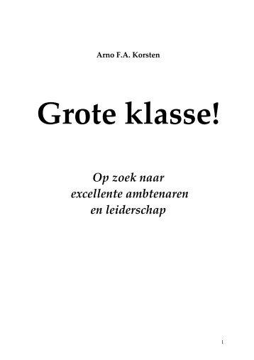 grote klasse.pdf - Prof. dr. AFA Korsten