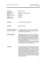 011 2012-11-14-bmllw PS-stik invulling bezuiniging subsidiebeleid
