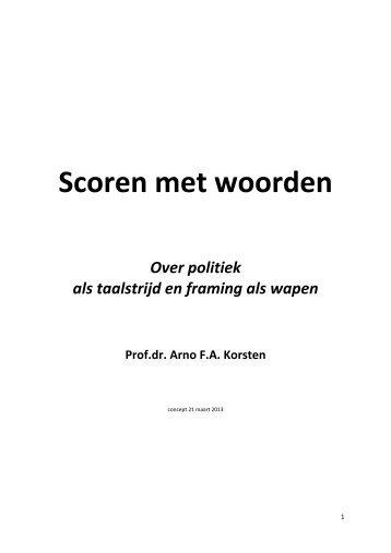 Scoren met woorden 230313.pdf - Prof. dr. AFA Korsten