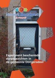 Experiment beschermde dorpsgezichten in de ... - Provincie Fryslân