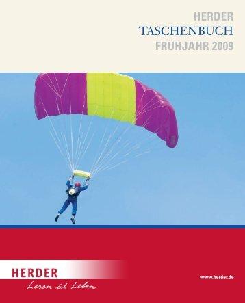 HERDER TASCHENBUCH FRÜHJAHR 2009 - Verlag Herder
