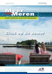 Meer dan Meren juli 2012 - Provincie Fryslân
