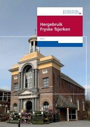 Rapport Hergebruik Fryske Tsjerken.pdf - Provincie Fryslân