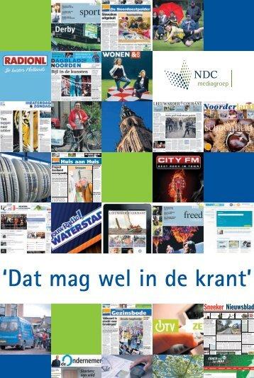 Dagblad van het noorden - NDC mediagroep