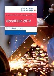 Jaarstukken 2010 opgemaakte versie.pdf - Provincie Fryslân