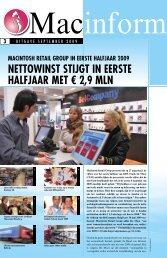 Macinform September 2009 - Macintosh Retail Group