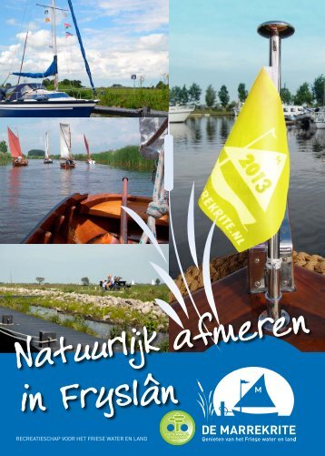 Folder Natuurlijk afmeren in Friesland - De Marrekrite