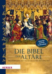 Die Bibel der Altäre - Verlag Herder