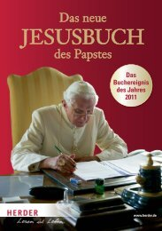 Das Buchereignis des Jahres 2011 - Verlag Herder