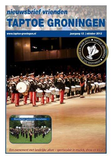 Download hier de nieuwsbrief van taptoe Groningen met ... - Advendo