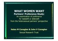 Preference Study