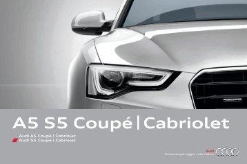 Brosjyre Audi A5 Coupé/Cabriolet