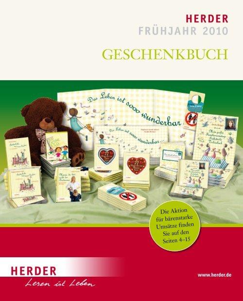 Verlag Herder, Freiburg: Vorschau Frühjahr 2010: Geschenkbuch