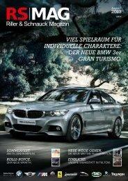 RS MAG - Ausgabe 2/2013 PDF - Riller & Schnauck