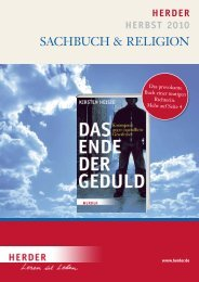 Presse- & Werbeschwer- punkt - Verlag Herder