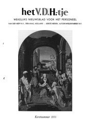 WEKELIJKS NIEUWSBLAD VOOR HET PERSONEEL - Van der Heem