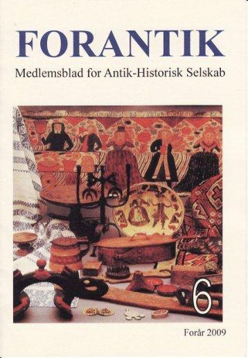 FORANTIK - Antik-historisk Selskab